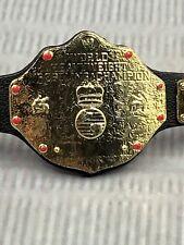 WWE Mattel Action Figure Accessory WCW World Heavyweight Title Belt Elite