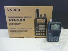 YAESU VR-500 Communications Receiver FM AM SSB Ham radio MINT NEW Box