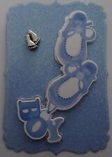 1 x Ready made topper for card making -New Baby Boy or Christening