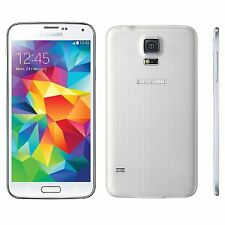 Samsung Galaxy S5 SM-G900A 16GB White AT&T Smartphone Burned Image!!