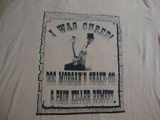 Vintage DOC MORGAN'S SNAKE OIL pain killer remedy Quak punk rock NEW T Shirt XL