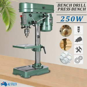 5 Speed Electric Operation Table Stand Base Bench Drill Press For Bench Mounted