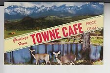Chrome 2 View Deer Greetings from Towne Cafe Price Utah