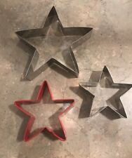 Patriotic 4th of July Star Cookie Cutter Set