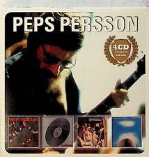 Peps Persson -Original Album Series 4-CD -NEW -RARE (Bloodsband/Hog/Sweet) Blues