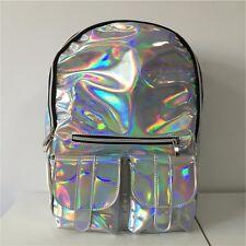 Kawaii Clothing Cute Harajuku Ropa Backpack Bag Laser Mochila Holographic Silver