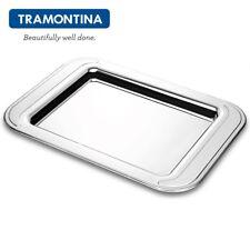 TRAMONTINA ® Rechteckig Tablett Serviertablett 49x35cm Edelstahl 18/10 61200/490