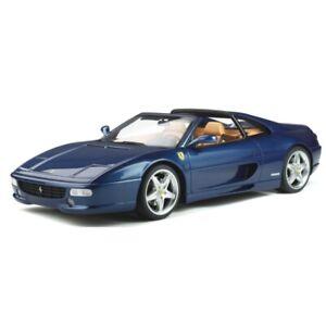 GT Spirit 1995 Ferrari F355 GTS 1995 Blue Tour de France 1/12 Scale New Release!