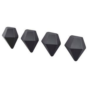 IKEA 4 Piece Magnet Memo Noticeboard Fridge Decorative Novelty Diamond Shape
