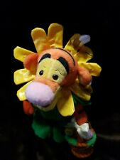 New Disney World Easter Bonnet spring Tigger egg Bean Bag Plush beanie retired