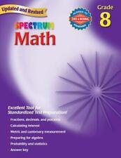 Spectrum Math: Grade 8 Workbook