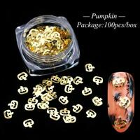 Nail Art Glitter Spangles For Nails Sequins Gold Flakes UV Gel Polish Tips Gifts
