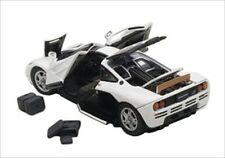 MCLAREN F1 WHITE WITH OPENINGS 1/43 DIECAST CAR MODEL BY AUTOART 56003