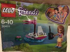 Lego Friends Polybag 30403 Olivia's Remote Control Boat