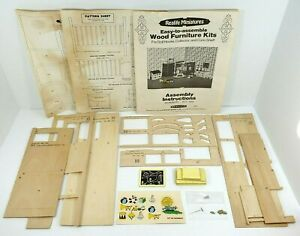 1975 Realife Miniatures Heritage Series Nursery Kit 192 Incomplete Set PartsOnly