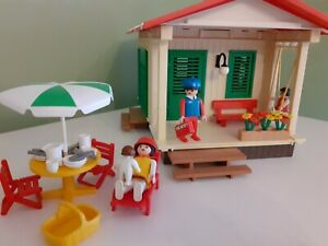 Vintage Playmobil - Vacation Cottage - Freetime Theme Ref 3771
