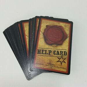 Clue Harry Potter Replacement 33 Help Cards Complete Set Game Part Piece 2016