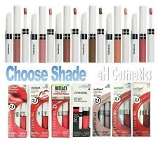 CoverGirl Outlast All-Day Moisturizing LipColor & Top Coat ~ Choose Color