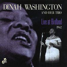 Dinah Washington - Live at Birdland 1962 [New CD]