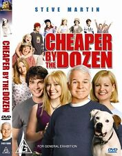 Cheaper By The Dozen (DVD, 2004) Region 4 Comedy DVD Rated PG Used in VGC