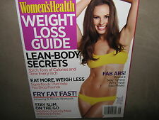 NEW! Women's Health WEIGHT LOSS GUIDE Summer 2012 Abs Diet Fitness Recipes Plan