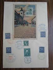 Trnava Tyrnau Nagyszombat Czecho Slovakia 700 Years of Town in 1938 Autopošta