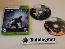 Halo 4 Xbox 360 Game w/ Case Iv