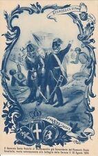 A1984) ROMA, PIEMONTE REALE CAVALLERIA, 61 ANNIVERSARIO SFORZESCA 21/3/1910.