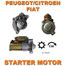 CITROEN/PEUGEOT/FIAT VARIOUS 1.8/1.9/2.0 DIESEL  QUALITY STARTER MOTOR