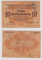 10 Goldpfennig Banknote Leipzig Handelskammer November 1923 (135065)