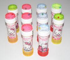 Jeux Jouet Plage Lot x10 Tube Bulles de Savon Hello Kitty 60 ml NEUF