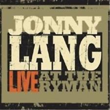 Jonny Lang-Live at the Ryman (US IMPORT) CD NEW