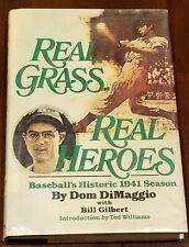 Real Grass Real Heroes Baseball Historic 1941 Season Dom DiMaggio