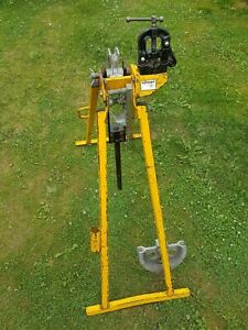 Hilmor EL32 conduit pipe tube bender 20mm & 25mm formers vice and instructions