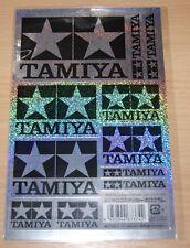 TAMIYA 67374 TAMIYA Logo Autocollant Set (Hologramme), Neuf sous emballage