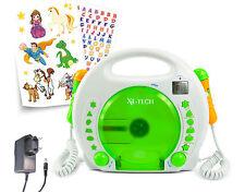 X4-TECH Kinder CD-Player Bobby Joey MP3 mit Akku und Netzteil