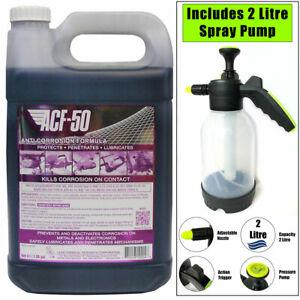 ACF50 Anti Corrosion Spray Liquid Bulk 4 Litre 4L ACF-50 with 2L Pump Bottle