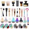 Pro Makeup Brushes Kabuki Cosmetic Contour Face Blush Powder Foundation Brush