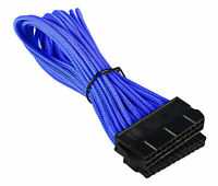 BattleBorn 24 Pin ATX Cable Extension Premium Braided Adapter Blue