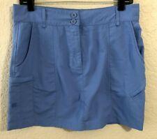 Women's WEST MARINE Blue Golf Skirt Sz Small EUC