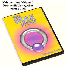 The Hole Story Volume 1 and 2 DVD - Body Piercing Video