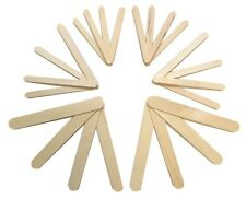Wooden Natural Lolly Sticks Small & Jumbo Sizes for Kids Art & Crafts Cake Pops