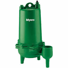 "Myers MW100-21 - 1 HP Cast Iron Sewage Pump (2"") (Non-Automatic - 230V)"