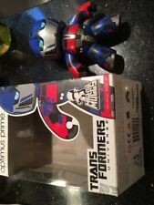 Mighty Muggs Optimus Prime Transformer Collectible Figure Comes As Pictured Box