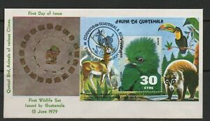 Guatemala FDC stamps