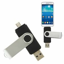 32GB USB 2.0 Swivel Micro-USB Android Smart Phone Tablet OTG Flash Memory Drive