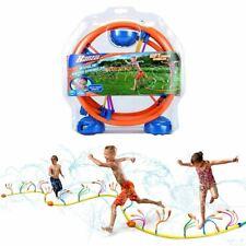 Banzai Wiggling Water Sprinkler Toy Kids Splash Summer Backyard Outdoor Spray Fu