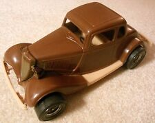 Vintage TootsieToy - 1934 FORD VICTORIA 2-Dr Coupe Hot Rod - Durant Plastics USA