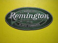 REMINGTON FIREARMS VEST PATCH 2 X 4 INCH SEW ON GUN PATCH FOR CAP VEST SHIRT JKT