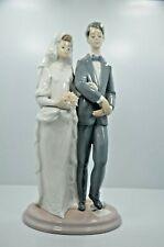 """Lladro Bride & Groom """"Mazel Tov"""" #6028 Figurine"""
